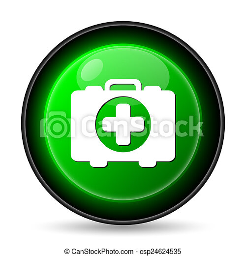 Medical bag icon - csp24624535