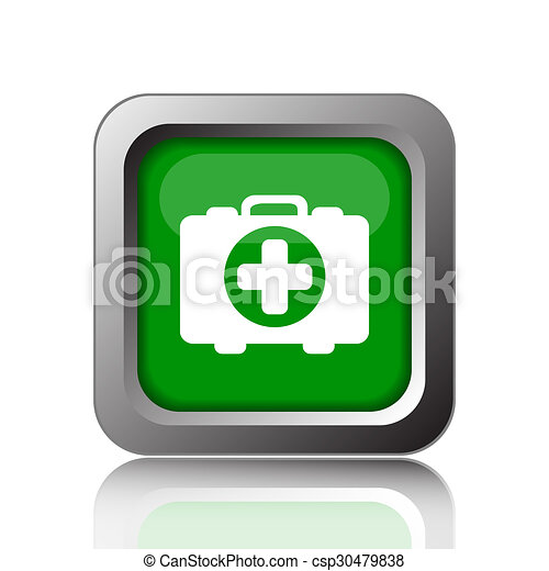 Medical bag icon - csp30479838