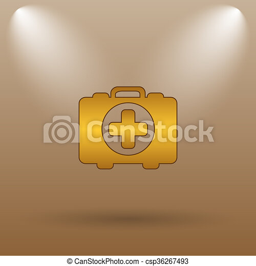 Medical bag icon - csp36267493
