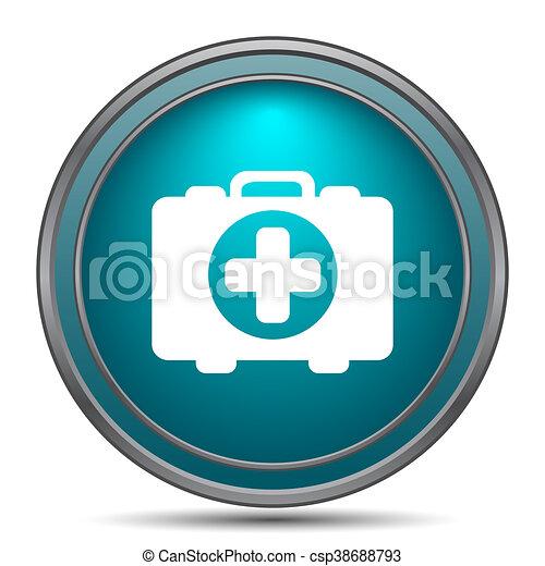 Medical bag icon - csp38688793