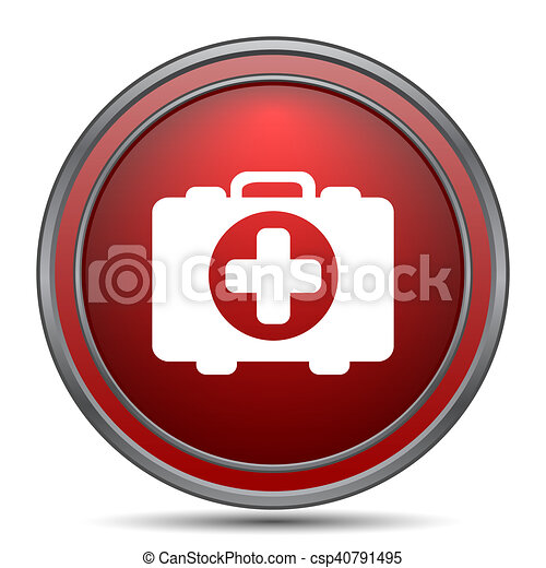 Medical bag icon - csp40791495