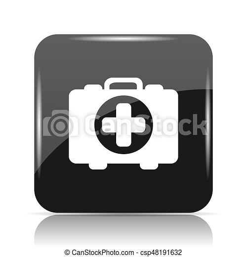 Medical bag icon - csp48191632