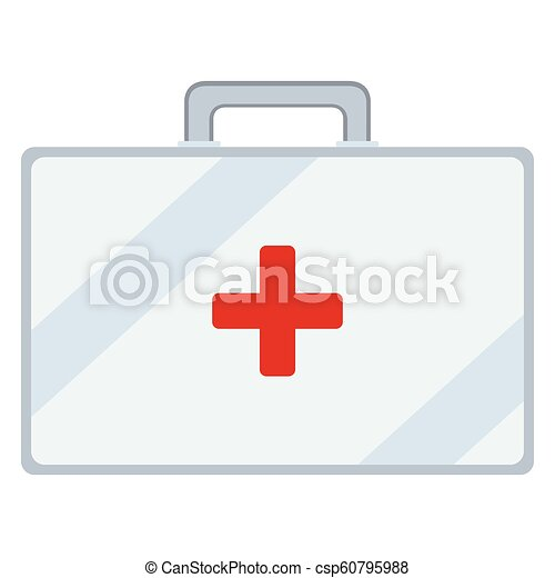 Medical bag icon - csp60795988