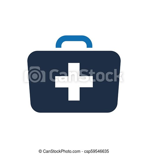 Medical Bag Icon - csp59546635