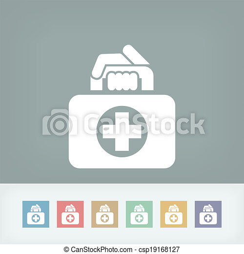 Medical bag icon - csp19168127