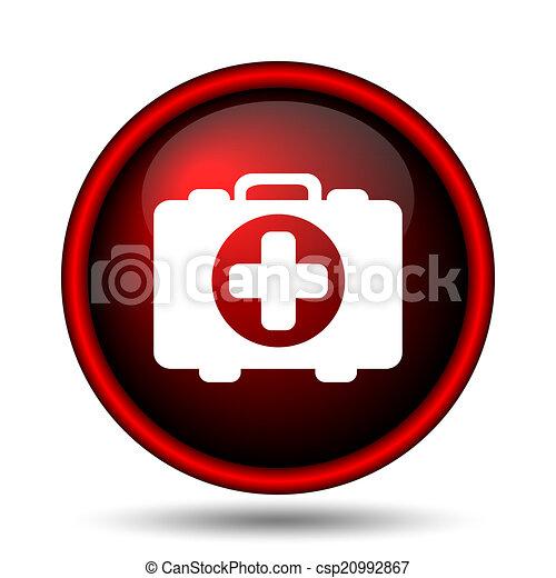 Medical bag icon - csp20992867