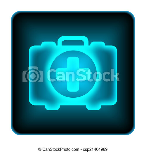 Medical bag icon - csp21404969