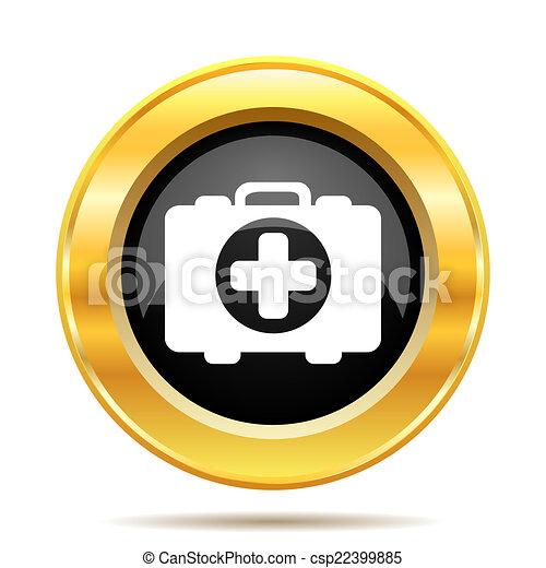 Medical bag icon - csp22399885