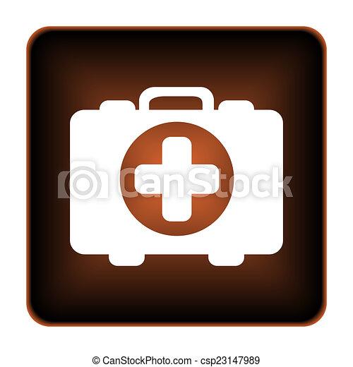 Medical bag icon - csp23147989