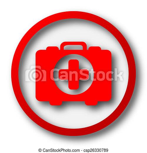 Medical bag icon - csp26330789