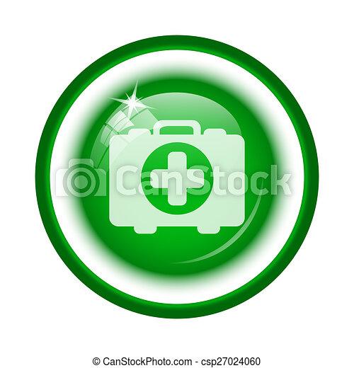 Medical bag icon - csp27024060
