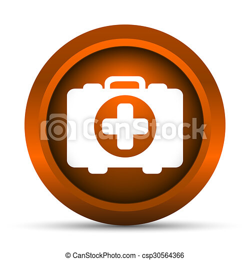 Medical bag icon - csp30564366