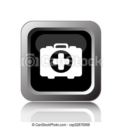 Medical bag icon - csp32876068