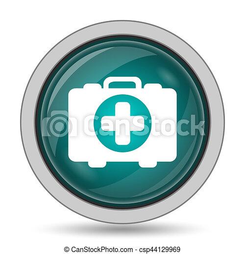 Medical bag icon - csp44129969