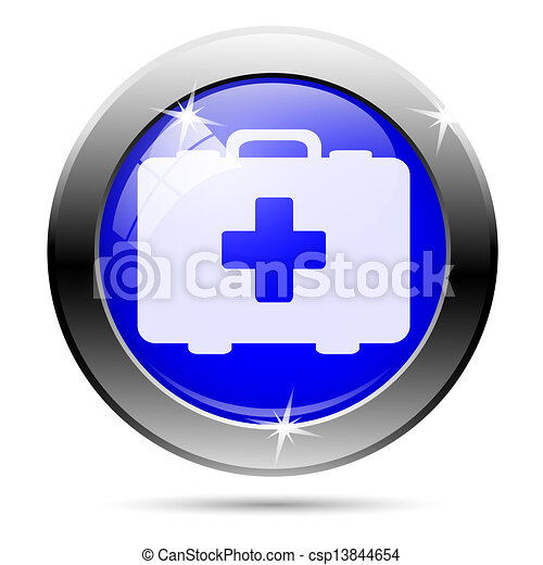 Medical bag icon - csp13844654
