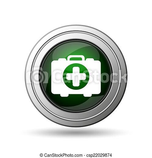 Medical bag icon - csp22029874