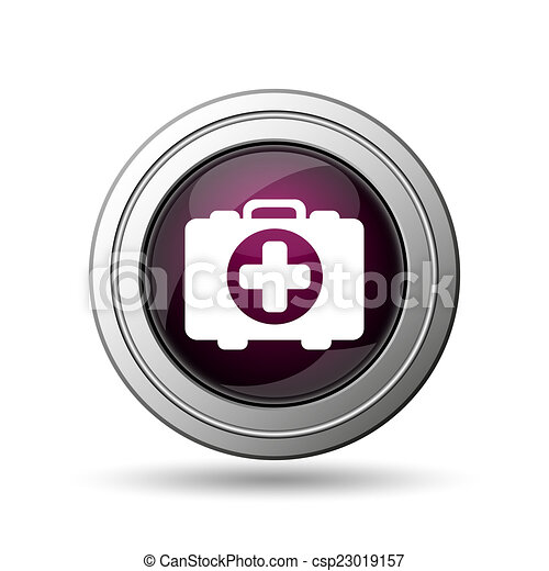 Medical bag icon - csp23019157