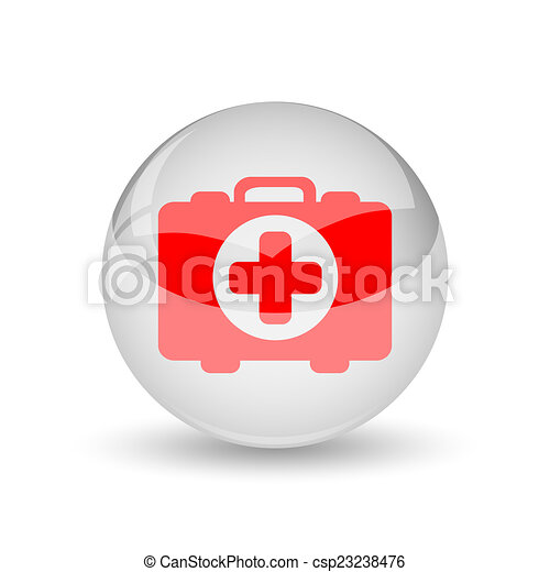 Medical bag icon - csp23238476