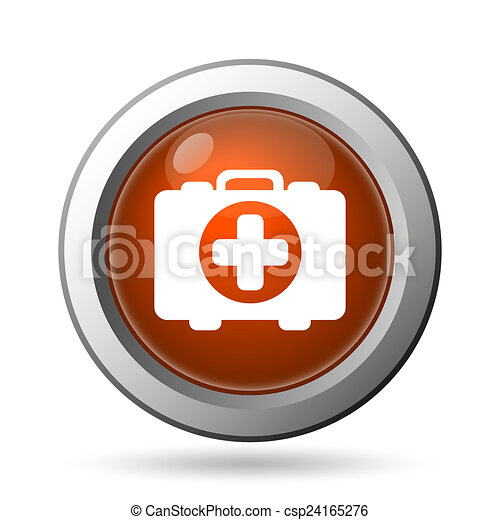 Medical bag icon - csp24165276