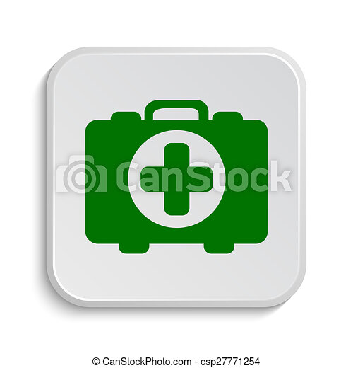 Medical bag icon - csp27771254