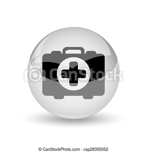 Medical bag icon - csp28355052