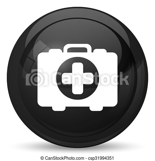 Medical bag icon - csp31994351