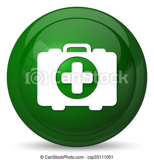 Medical bag icon - csp33111051