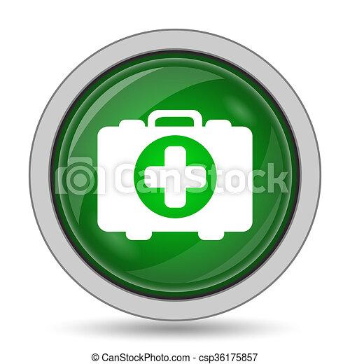 Medical bag icon - csp36175857