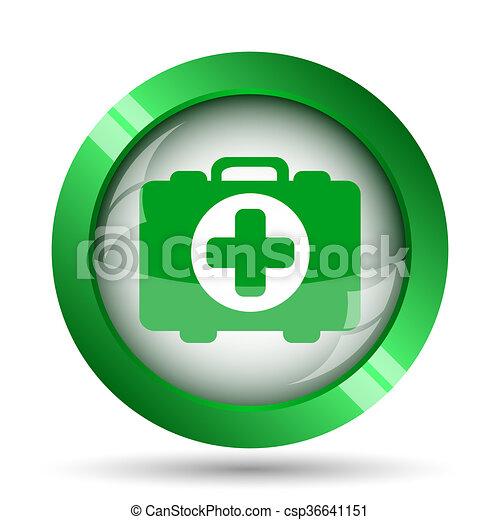 Medical bag icon - csp36641151