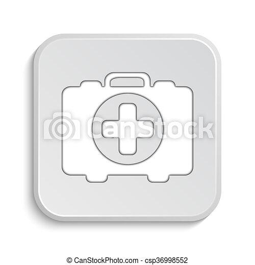 Medical bag icon - csp36998552