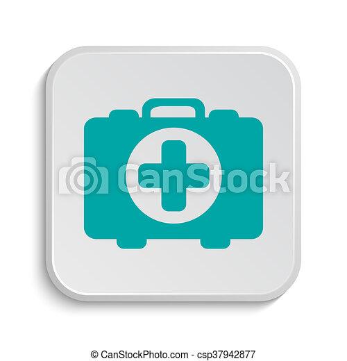 Medical bag icon - csp37942877