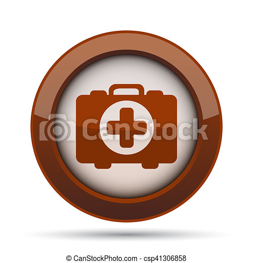 Medical bag icon - csp41306858
