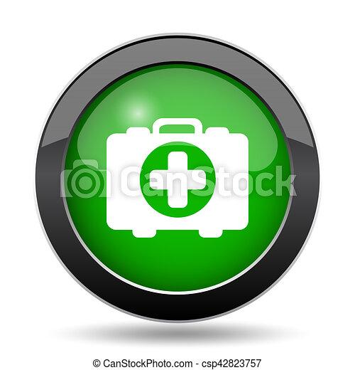Medical bag icon - csp42823757