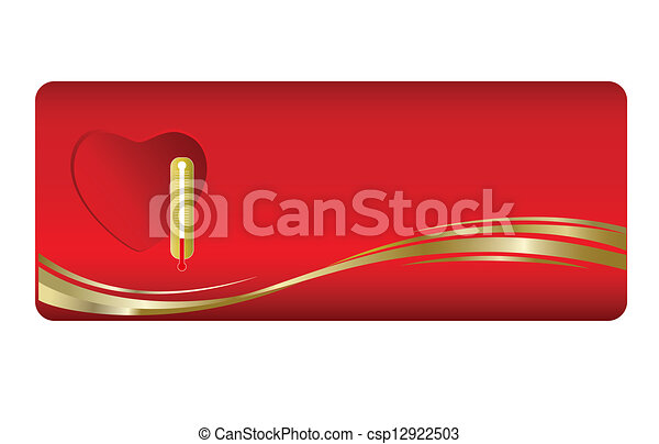Medical business cards vector reheart Image collections