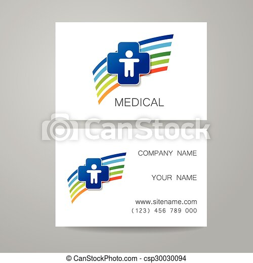 Medical card template template of medical business cards medical card template csp30030094 reheart Image collections