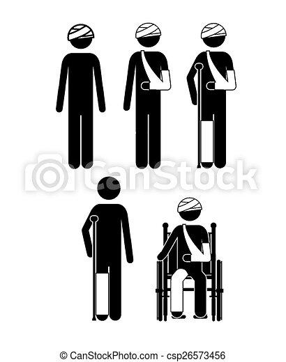 Medical care design - csp26573456