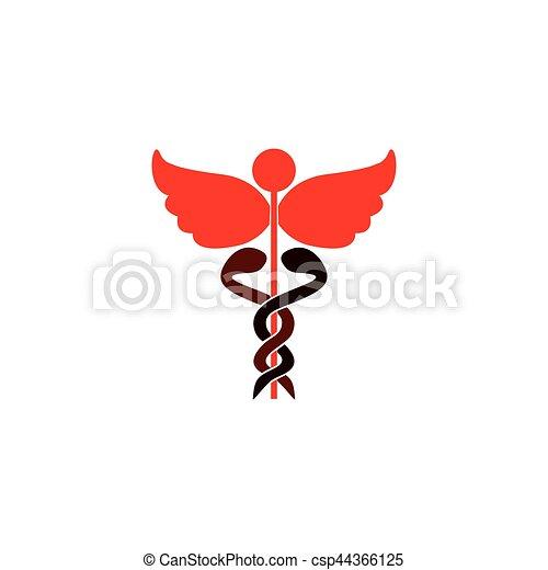 Medical care symbol - csp44366125