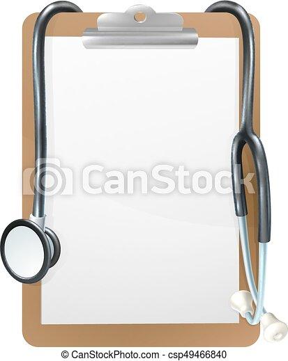 Medical clipboard background. Background medical frame illustration ...