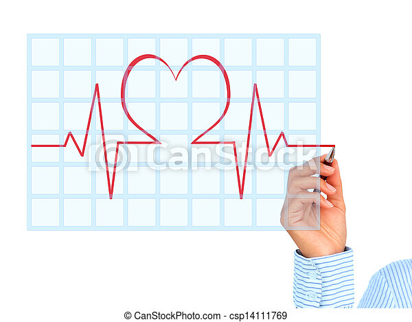 Medical collage. - csp14111769