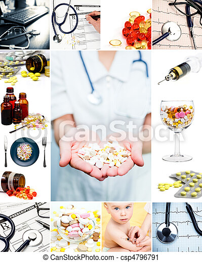 Medical collection - csp4796791