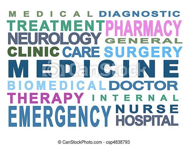 Medical concept - csp4838793