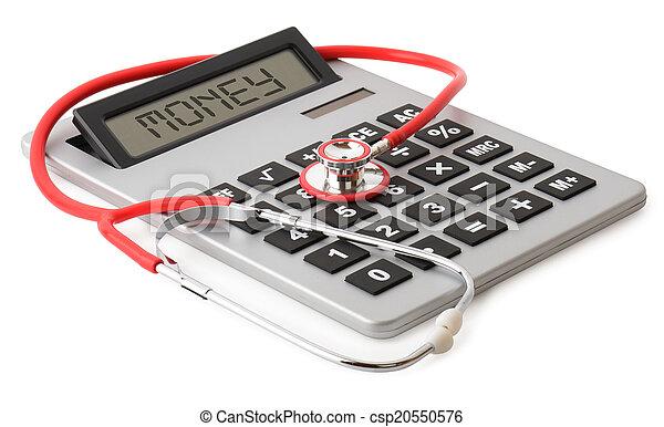 medical costs - csp20550576