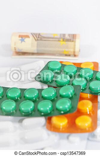 Medical Costs - csp13547369