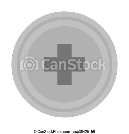 medical cross icon - csp38425159