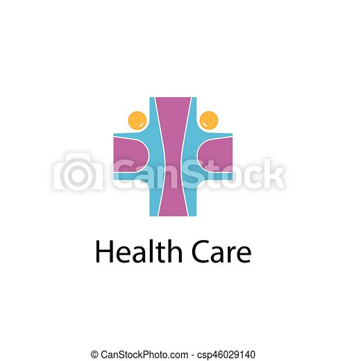 Medical Cross People Iconmedical Center Vector Logo Design Template Health Care