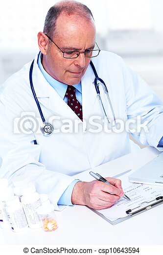 Medical doctor. - csp10643594