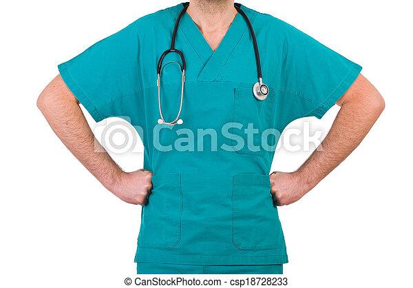 Medical doctor.  - csp18728233
