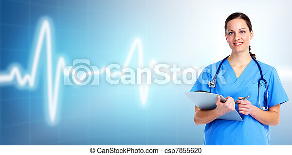 Medical doctor woman. Health care. - csp7855620