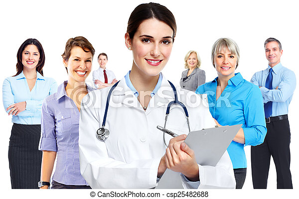 Medical doctor woman. - csp25482688