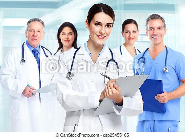 Medical doctor woman. - csp25455165